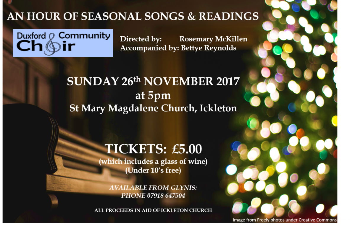 Ickleton, an hour of Christmas music and readings