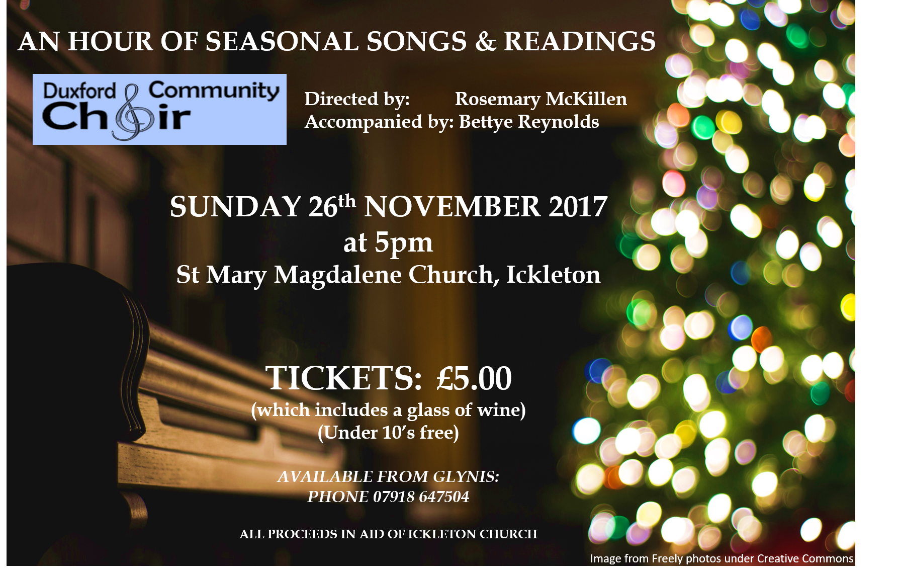 Christmas Readings.Ickleton An Hour Of Christmas Music And Readings Hinkledux